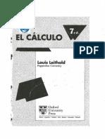 Formulário - Cálculo - Louis Leithold