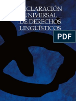 Derechos lingüísticos
