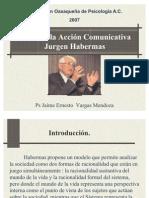 Jurgen Habermas.teoria de La Accion Comunicativa
