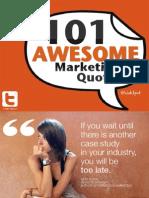 Marketing Quotes June 2011