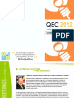 QEC 2012 - Competitors Package FINAL