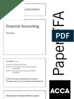 Ffa Past Paper 3(F3)