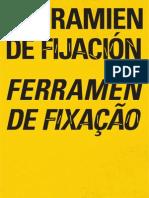 HERRAMIENTAS DE FIJACION