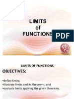 1 - Limits of Functions- Definition