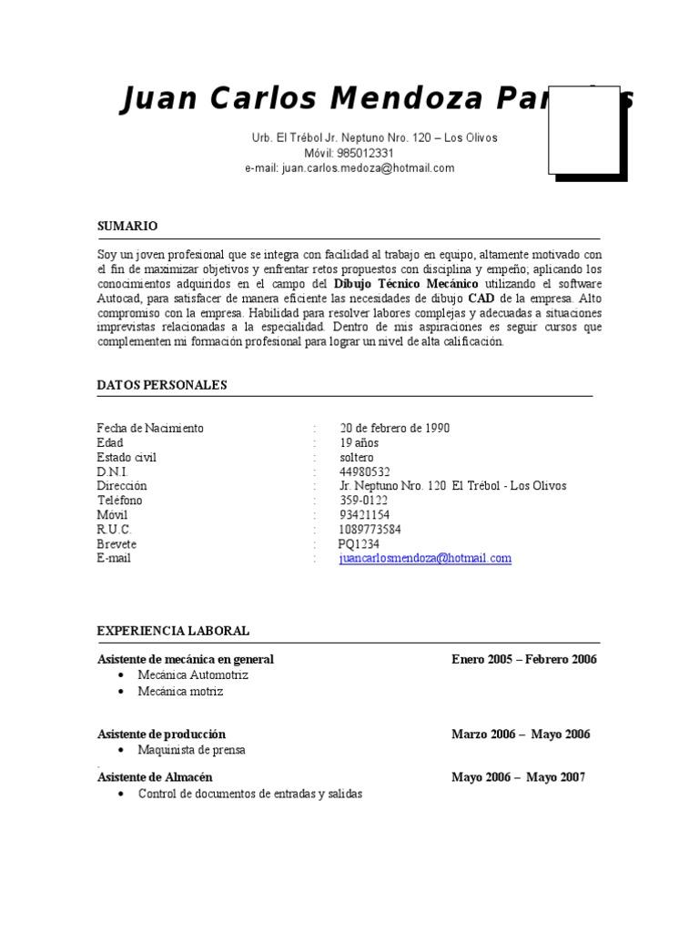 Vistoso Ejemplos De Curriculum Vitae Para Trabajos De Soldadura ...