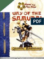 7626650 Oriental Adventures Way of the Samurai