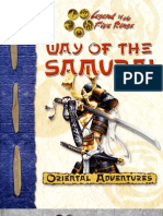 7626650 Oriental Adventures Way of the Samurai