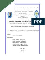 RESULTADOS DE PROYECCIÓN COMUNAL