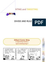 Marketing Twelve(Segmentation and Targeting)