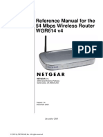 Wgr614v4 Ref Manual