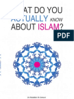 What Do You Actually Know About Islam