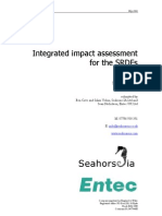 Integrated Impact Assessment Model and Tool for SRDFs in London Report