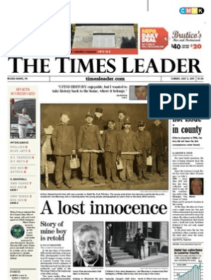 Times Leader 07-03-2011 | United States Environmental Protection