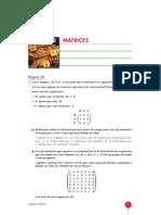 MATRICES 2º BACHILLERATO