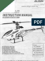 Trex 450SE Manual