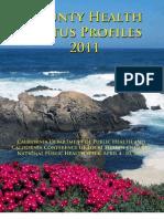 California County Health Status Profiles 2011