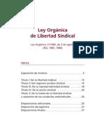 Lols_ley Organica Libertad Sindical