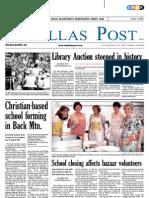 The Dallas Post 07-03-2011