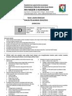 Soal US TIK 2011 Paket D