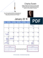Deist Calendar 2010 With Holidays
