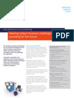 4458 Bank Fusion Universal Banking Business Factsheet Bank Master Customers - April 10