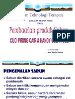 Proses Pembuatan Sabun Cair & Gel (Untuk Pelatihan 21 Feb 200)