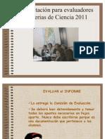 evaluadores 2011