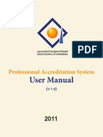 Professional Accrediation System