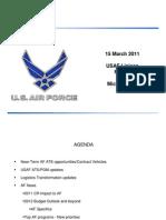 USAF Liaison Projection Mar 15