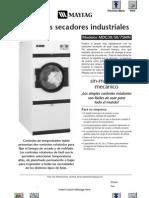 Secador Industrial Maytag