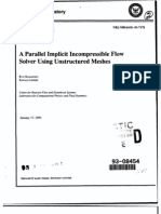 A Parallel Implicit In Compressible Flow