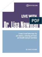 Pet Health Dr Lisa Newman