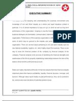 Ispat Industries -Financial Ratio Analysis (Jigar Patel)