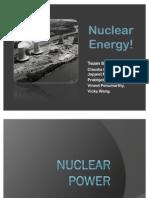 Group 4 Team 8 - Nuclear Energy