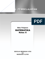 Model Pembelajaran Mat SMA X SM1