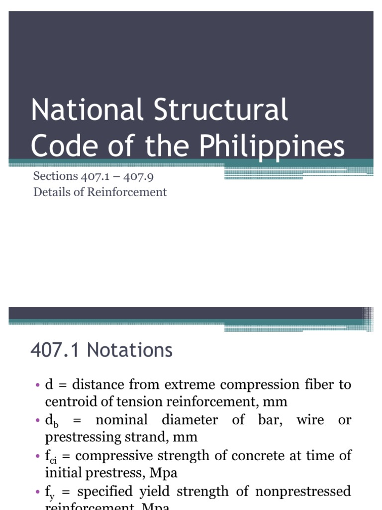 National structural code of the philippines prestressed concrete national structural code of the philippines prestressed concrete concrete greentooth Images