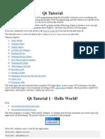 Free PDF eBook.com Qt Tutorial
