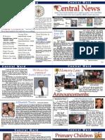 Central Newsletter July 2011