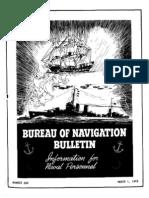 All Hands Naval Bulletin - Mar 1942