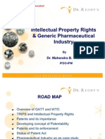 IPR & Generic Pharmaceutical Industry by Mahendra B. Thakre