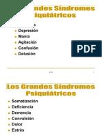 Sindrome  Psiquiatricos