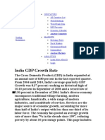 Indian Gdp 1