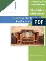 Historia Del Mueble Hasta El Siglo Xix Unidades Didactic As