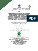 EoI- Empanelment of Sector Experts for Skill Development Activities