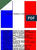 A REVOLUÇÃO FRANCESA E A ESCOLA DE MASSA