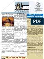 """2011-07-03 """"El Conquistador"""" Boletín Semanal de La casa de Todos- Chimbote"""