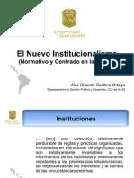 El Nuevo Institucionalismo 4 (Ideas)
