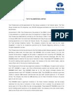 Tata Teleservice LTD 14-1-2010