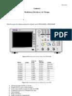 Metrología - El osciloscopio y generador de funciones