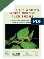 100 especies invasoras mas dañinas del mundo